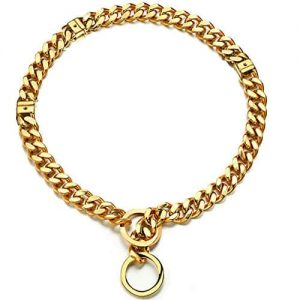 Abaxaca Adjustable 18K Gold Dog Collar |