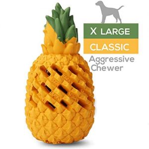 M.C.works Pineapple Dog Chew Toys |