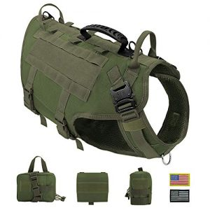 PET ARTIST Tactical Dog Harness for Hiking Training |