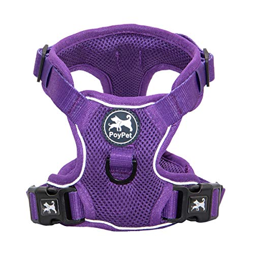 PoyPet Reflective-Soft Breathableesh Dog Harness |