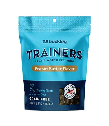 Buckley-Trainers-All-Natural-Low-Calorie-Grain-Free-Dog-Training-Treats-6-Ounce-0 |