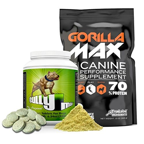 Bully Max Combo Dog Muscle Supplements |