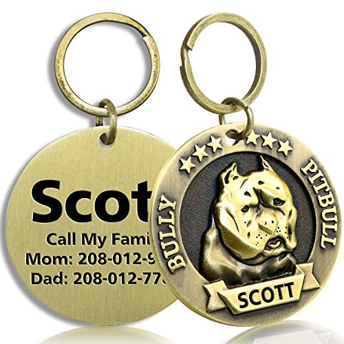 FunTags Bronze Breeds Customized Dog ID Tag |