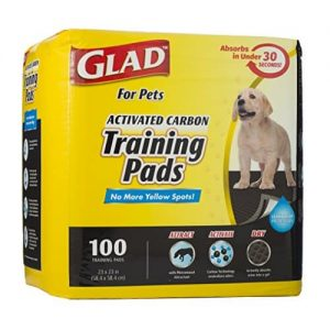 Black Charcoal Puppy Potty Training Pads |