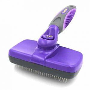 Hertzko Self Cleaning Slicker Brush |