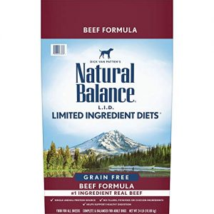 Natural Balance L.I.D. Limited Ingredient Diets |