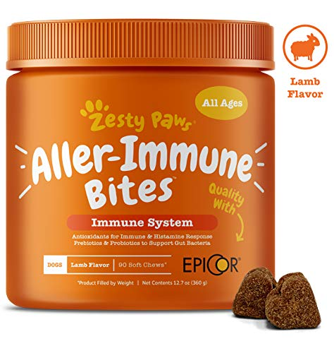 Zesty Paws Allergy Immune Supplement |