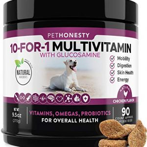 10-in-1-Dog-Multivitamin-with-Glucosamine-Essential-Dog-Vitamins-with-Glucosamine-Chondroitin-Probiotics-and-Omega-Fish-Oil-for-Dogs-Overall-Health-glucosamine-for-dogs-joint-supplement-heart-0 |