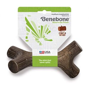 Benebone-MaplestickBacon-Stick-Durable-Dog-Chew-Toy-for-Aggressive-Chewers-Made-in-USA-0 |