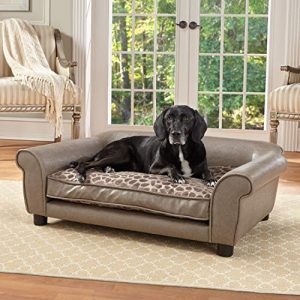 Enchanted-Home-Pet-Pewter-Rockwell-Pet-Sofa-0 |