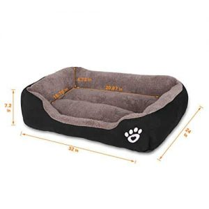 Utotol-Warming-Dog-Beds-Rectangle-Washable-Pet-Bed-with-Firm-Breathable-Cotton-for-Cats-Sleeping-Orthopedic-Bed-0-0  